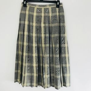 Pendleton Skirt Womens Size 8P Wool Blend